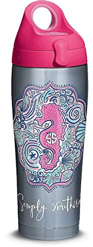 Tervis Simply Southern Stainless Steel Pink Seahorse Water -