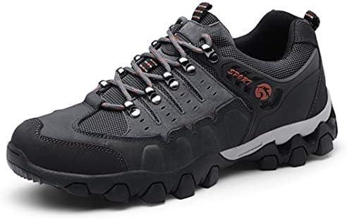 トレッキングシューズ メンズ ハイキングシューズ 登山靴 アウトドアシューズ 軽量 通気性 厚い底 ローシューズ スポーツ 運動靴 スニーカー カジュアルシューズ クライミングシューズ 24.0cm-27.0cm 幅広 4E 軽登山靴