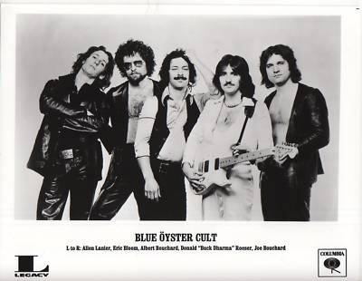 PHOTO Original C3091 Blue Oyster Cult