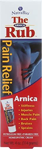 Natra-Bio (NOT A CASE) The Arnica Rub Pain Relief Cream ()