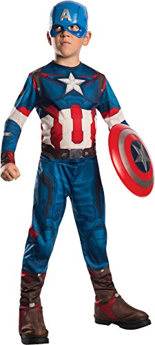 Rubie's Costume Avengers 2 Age of Ultron Child's Captain America Costume, - Captain America Easy Costume