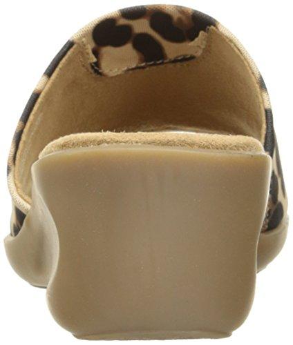 Aerosoler Kvinna Badminton Syntetisk Kil Sandal Stor Leopard