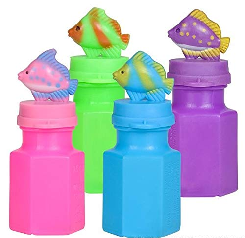 Rhode Island Novelty Tropical Fish Bubbles | 24pc Set | ()