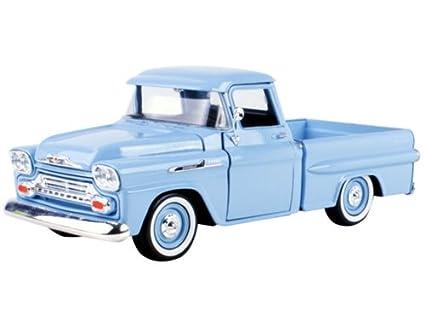 Buy 1958 Chevrolet Apache Fleetside Pickup Light Blue 124 By