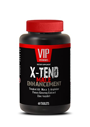 Male enchantment pills increase size - X-TEND Male ENHANCEMENT with Tongkat Ali, Maca, L-Arginine, Muira Puama, Tribulus, Panas Ginseng - 1 Bottle 60 Tablets ()