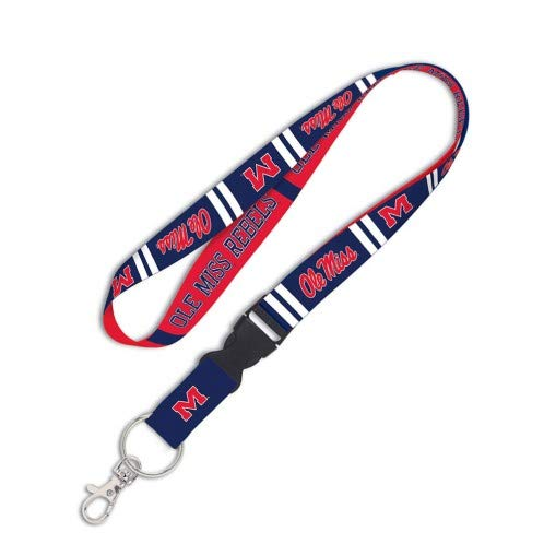 NCAA Ole Miss Rebels Lanyard with Detachable Buckle
