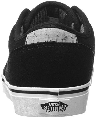 VansAtwood Deluxe - Zapatillas Hombre Beige (Suede Black/Marshmallow)