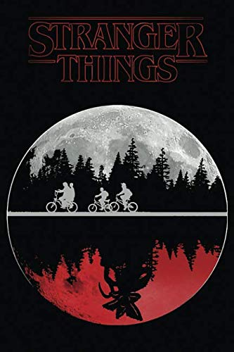 Book cover from Stranger things: simple notebook for stranger things fans, 100 lined pages, 6x9 by MovieNotebooks