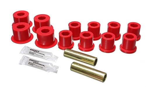 Energy Suspension 8.2103R Leaf Spring Bushing Set Fits 84-88 4Runner Pickup