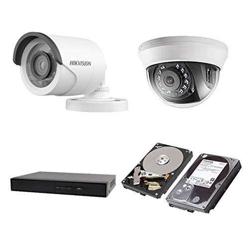 HIKVISION(ハイクビジョン) 監視カメラ 防犯カメラ セット 5年保証 監視カメラ 小型 × 9台(243万画素フルハイイビジョン)+3TB HDD 屋外用 TVI-9SET-3TB 小型 スマホ対応 録画機能付き 16CH 屋外用7台 屋内用ドーム2台 TVI-9SET-3TB B074Y3DZ3Q, エスニックのマーブルマーケット:0357e47d --- m2cweb.com