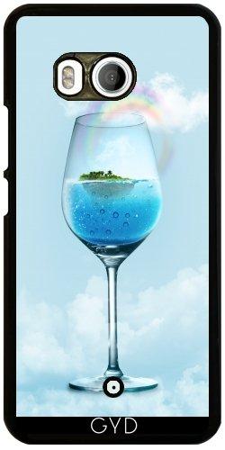 Funda para Htc U11 - Comida Cristal Fantasía De Vino by WonderfulDreamPicture