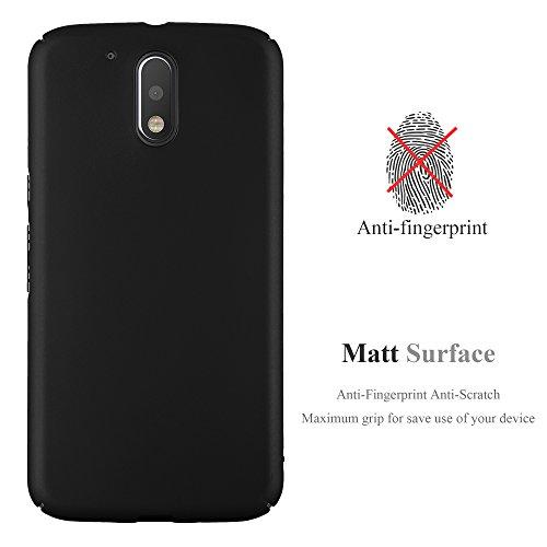 Cadorabo - Hard Cover Protección para >                                  Lenovo (Motorola) MOTO G4                                  < (No para G4 Play) con Efecto Metálico Mate