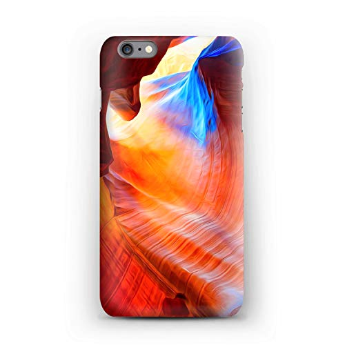 Compatible Moab, Canyon Stripes Soft Gel Case/Replacement for, if Applicable for iPhone 6s Plus - Medium Canyon Stripe