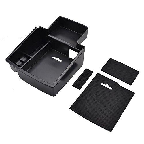 Daxey Audi Q5 Q5 2009-17 Apoyabrazos Caja de Almacenamiento de palets Center Console Container Bandeja Bin