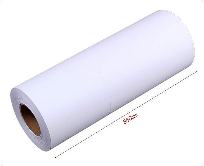 Oficina De Ingeniería Copia De Papel 620/880/914 Mm * 150 M 2 Rollos/Caja CAD Blanco Dibujo Papel Web Papel De Dibujo A0 A1 (Tamaño : 620): Amazon.es: Electrónica