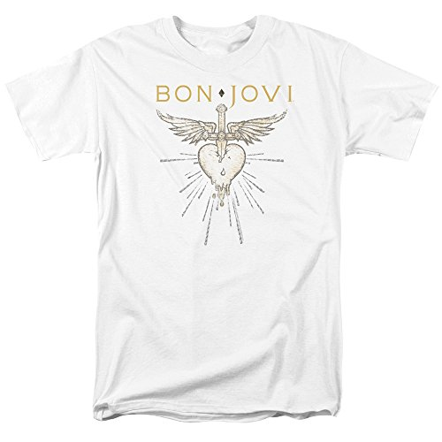 Trevco Bon Jovi Greatest Hits Unisex Adult T Shirt For Men and Women