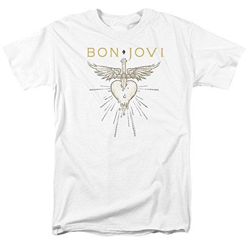 Trevco Bon Jovi Greatest Hits Unisex Adult T Shirt For Men and Women ()