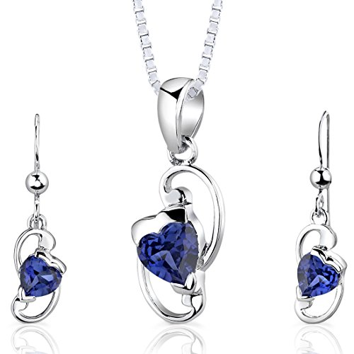 created-sapphire-pendant-earrings-necklace-sterling-silver-heart-shape-200-carats