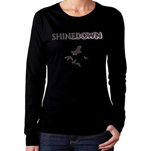 Wenlitee Shinedown Humor Women's Long Sleeve T Shirt Black S