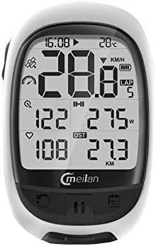 Festnight M2 GPS Bicicleta Ordenador Cadencia Frecuencia cardíaca Medidor de Potencia Ciclismo Navegación Ordenador: Amazon.es: Deportes y aire libre