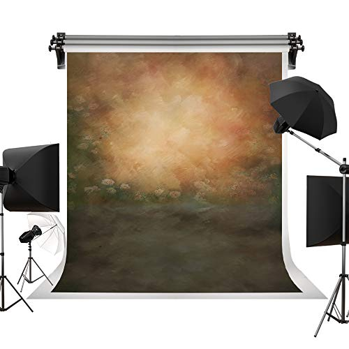 Kate 5x7ft/1.5x2.2m(W:1.5m H:2.2m) Oil Painting Printed Old Master Flowers Fantasy Background Portrait Photography Abstract Texture Backdrop Photography Studio - Oil Background Painting