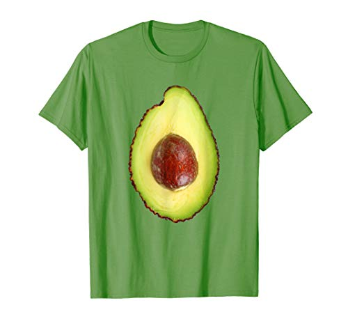 Avocado Halloween Costume Last Minute Easy Fast Lazy T-Shirt
