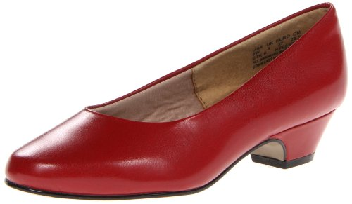 (Soft Style by Hush Puppies Women's Angel II Dress Pump, Red Elegance, 6.5 M US)