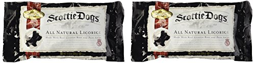 Gimbal's All Natural Licorice Scottie Dogs (11.5 oz Bags) 2 Pack
