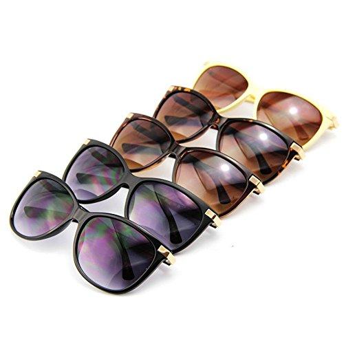gafas marca Nueva clásica de No2 del sol de Negro gafas Venta UV400 caliente de Gato mujer Ojo Mate de Vintage sol de 5qCYCOrd