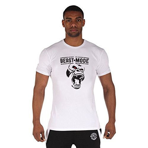 Beast Mode Gym T-Shirt Sport 180g. Premium Quality Fast Drying 3D Studio