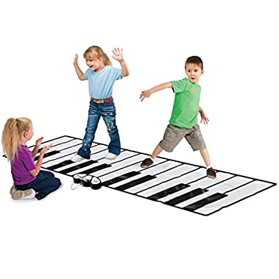 """Best Choice Products 100"""" Super Gigantic Musical Electronic Keyboard Piano Playmat With Builtin Amplifier MP3 Plug In"""
