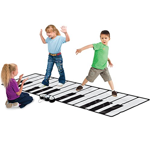 Best Choice Products 100' Super Gigantic Musical Electronic Keyboard Piano Playmat With Builtin...