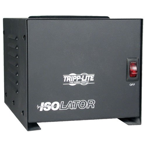 Cable Isolation Transformer - Tripp Lite IS1000 Isolation Transformer 1000W Surge 120V 4 Outlet 6ft Cord TAA GSA