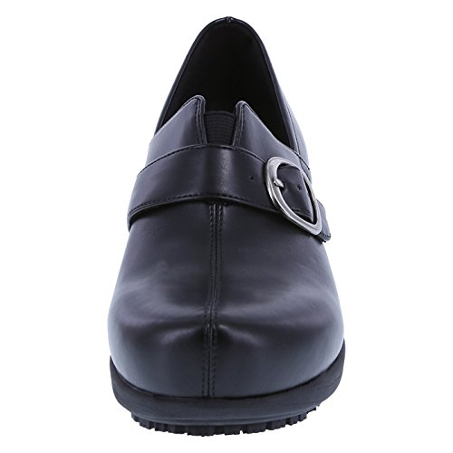 safeTstep Women's Gretchen Slip Clog Black Buckle Resistant BPa8wvBq