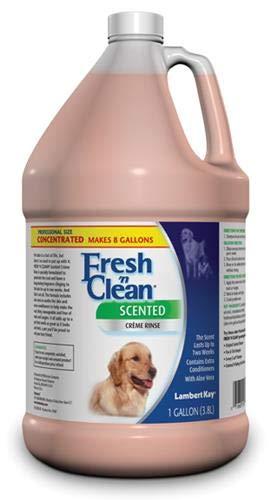 Baking Soda Conditioner - Lambert Kay Fresh'n Clean Dog Creme Rinse, 1-Gallon