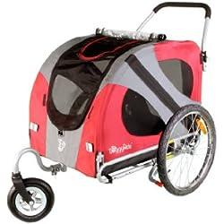 DoggyRide Original Dog Stroller, Urban Red