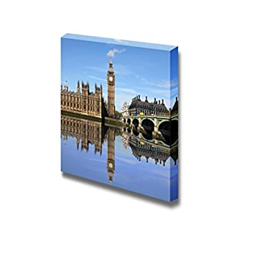 Beautiful Scenery Landscape Westminster Bridge with Big Ben in London - Canvas Art Wall Art - 12