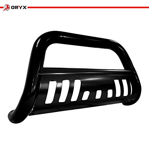 Bull C1500 Bar (ORYX B1195UB Black Carbon Steel Bull Bar Fits Chevy/GMC Tahoe/Suburban 1995-1999)