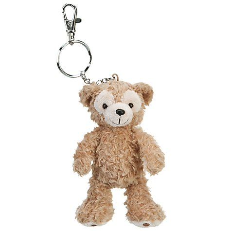 4' Plush Bear Keychain - Walt Disney World Duffy the Disney Bear Plush Keychain
