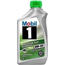 Mobil 1part No. 112746 (Advanced fuel economy) 0W-30 ESP Motor Oil - 1 Quart (Pack of 6)