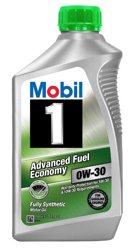 Mobil 1part No. 112746 (Advanced fuel economy) 0W-30 ESP Motor Oil - 1 Quart (Pack of 6)