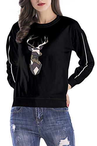 Black De Corto para Jersey Navidad Jumojufol Mujeres fwZYFqZC