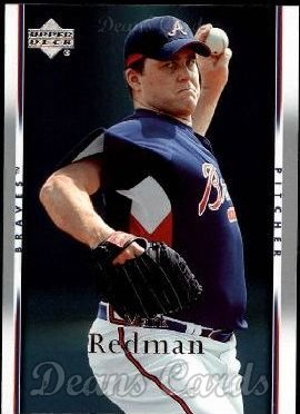 9 Mark Redman Atlanta Braves (Baseball Card) Dean's Cards 8 - NM/MT Braves ()