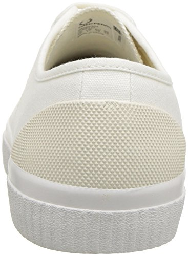 cheap latest collections cheap sale clearance Fred Perry Unisex Adults' Hughes Canvas Sneaker Snow White V5GRx7MFVu