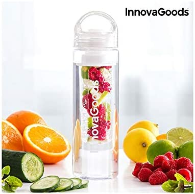 InnovaGoods IG116769 Botella con Filtro para Infusiones, Unisex Adulto, Transparente, Talla Única: Amazon.es: Deportes y aire libre