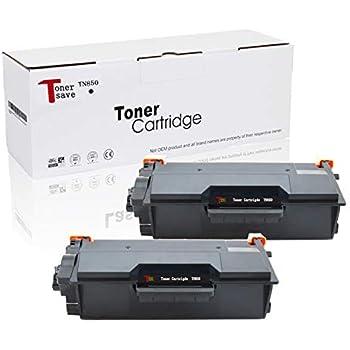 2pk TN850 Black Toner Cartridge TN850 For Brother MFC-L5800DW L5850DW HL-L6200DW