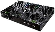Denon DJ PRIME GO – Portable DJ Set/Smart DJ Console with 2 Decks, WIFI Streaming, 7-Inch HD Touchscreen and R