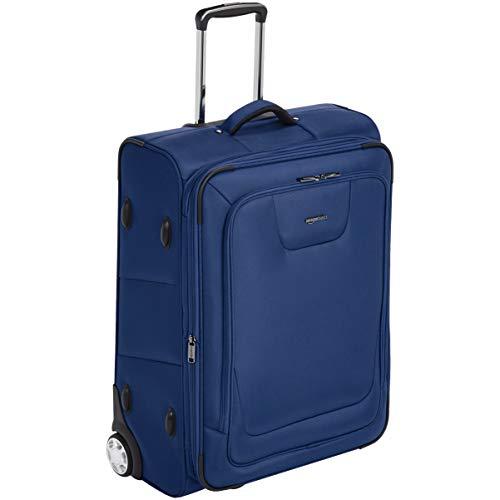 (AmazonBasics Premium Upright Expandable Softside Suitcase with TSA Lock - 26 Inch,)