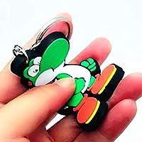 Amazon.com: Key Chains - Game Super Mario Bros PVC Key Chain ...