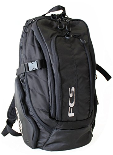 FCS Stash Premium Laptop Backpack One Size Black (Snow 20l)